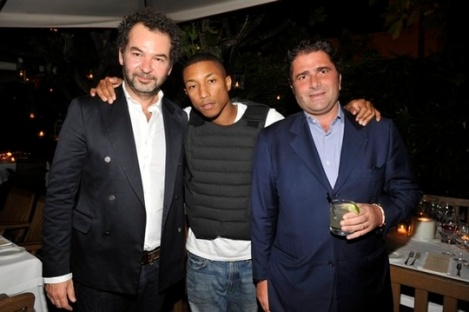 Remo Ruffini;Pharrell Williams;Marco De Benedetti