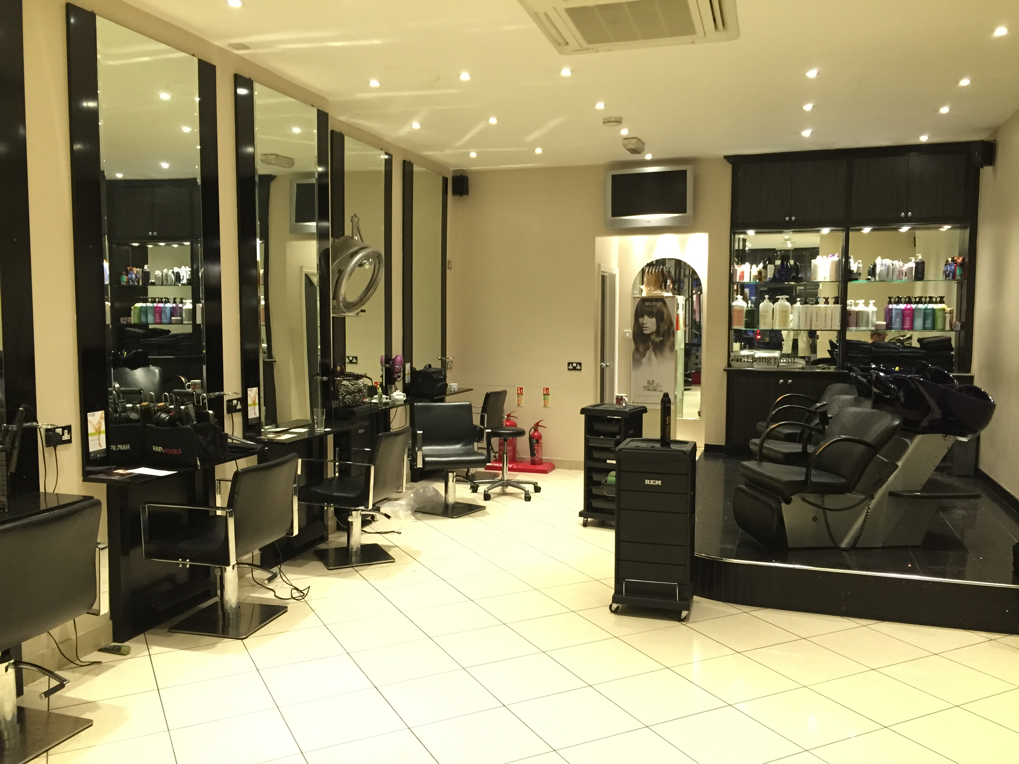 Tried tested balmain hair extensions naked fashions for Academy salon cobham